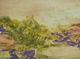 Zao Wou-Ki 趙無極, ' Etching No. 325', 1986