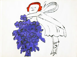 Andy Warhol, 'In The Bottom of my Garden IV.98A', 1956