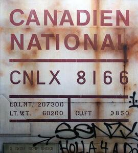 Tim Conlon, 'Blank Canvas #77 - CNLX', 2019
