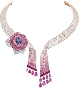 Van Cleef and Arpels, 'Rose Capulet necklace with detachable clip. Unique piece, High Jewelry Collection', 2019