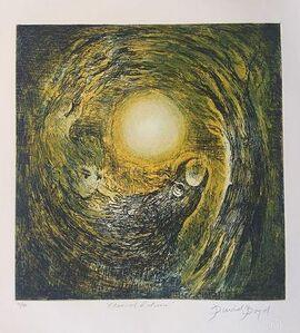 David Boyd (1924-2011), 'Eternal Return (Yellow)', ca. 2006