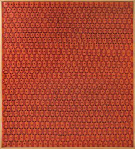 Franco Bemporad, 'Struttura rosso', 1977