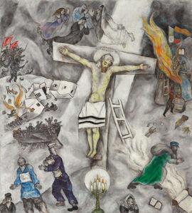 Marc Chagall, 'White Crucifixion', 1938
