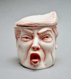 Patti Warashina, 'TRUMP', 2019
