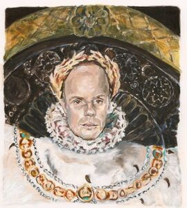 Carole Freeman, 'After Ingres: International Curator as Napoleon', 2015