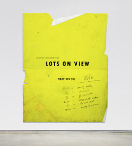 Ryan Brown, 'Lots on View', 2017