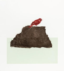 Blaise Drummond, 'The Northern Cardinal (or redbird)', 2015