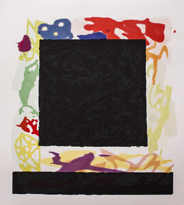 Peter Halley, 'Black Cell', 2014