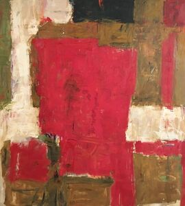 Diana Kurz, 'Untitled (Red and Brown)', ca. 1960
