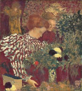 Édouard Vuillard, 'Woman in a Striped Dress', 1895