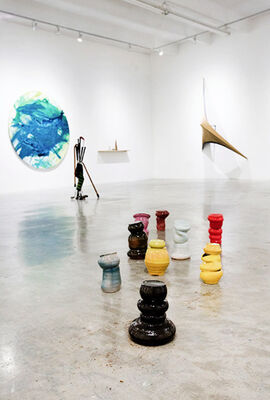 Transited Road, installation view
