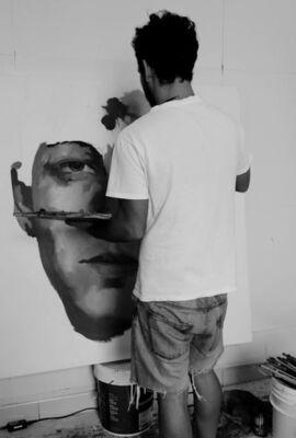 Luis Miguel Rivero, installation view
