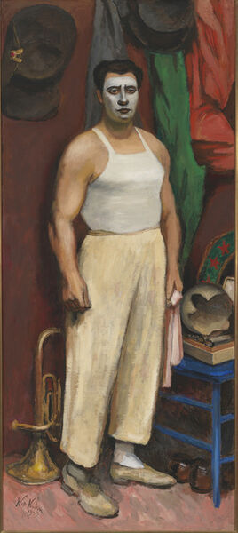 Walt Kuhn, 'Clown in His Dressing Room', 1943