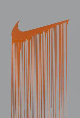 Liquidated Logos, installation view