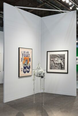 P.P.O.W at The Armory Show 2019, installation view