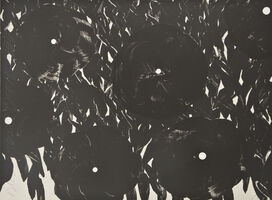 Donald Sultan, 'Black Flowers October 15', 1996