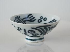 Keith Haring, 'Pop Shop Tokyo - Rice Bowl', 1987