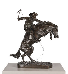 Frederic Remington, 'The Bronco Buster', 1895