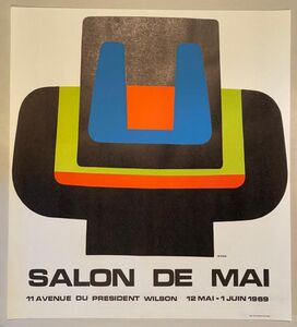 Jean Dewasne, 'Salon de Mai', 1969