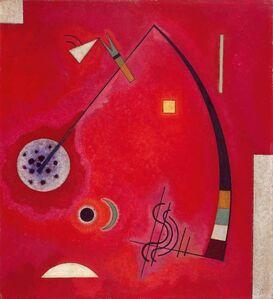 Wassily Kandinsky, 'Gespannt im Winkel', 1930