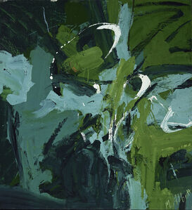 Mary Abbott, 'All Green', 1954