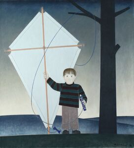 Will Barnet, 'Kite Boy', 1986