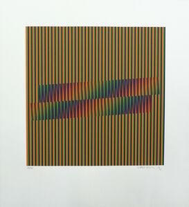 Carlos Cruz-Diez, 'Induction Chromatique', 1998