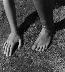 Robert Adams (b.1937), 'An inexpensive prosthetic foot, made for the victims of land mines', ca. 1995