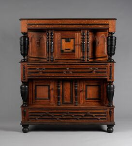 Unknown American, 'Cupboard', 1683