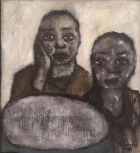 Nelly Guambe, 'Sisters', 2018