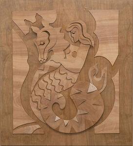 Bernette Rudolph, 'Mermaid on a Seahorse', 2020