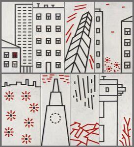 Igor Shelkovsky, 'Architectural composition - 2', 2009