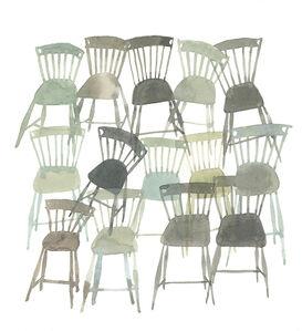 Ashley Mistriel, 'Real Chairs', 2016