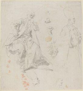 Giovanni Battista Piazzetta, 'Caliph Aladin and His Counselors', late 1730s