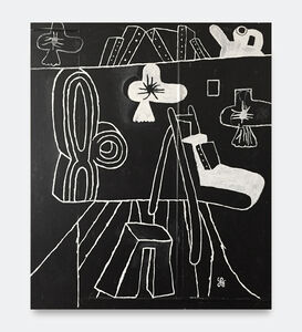 Soeren Behncke, 'Académie Moderne (Black Version)', 2018