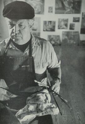 Warren Brandt: Recent Oil Paintings, installation view