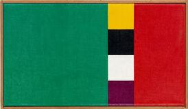 Konkretion mit drei Farbkomplementen I