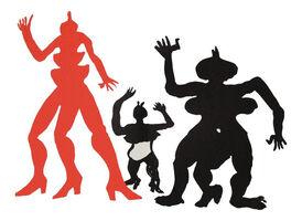 Alexander Calder, 'Three Acrobats', 1975