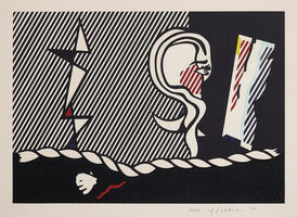 Roy Lichtenstein, 'Figures with Rope, from Surrealist Series', 1978