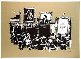 Banksy, 'Morons Sepia', 2007