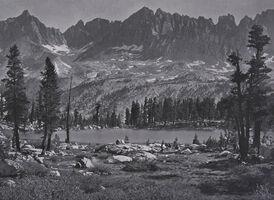 Ansel Adams, 'Kaweah Peaks from Little Five Lakes', 1939