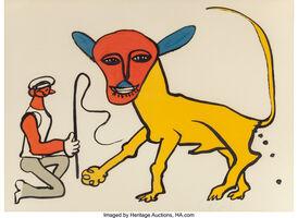 Alexander Calder, 'Lion Tamer', c. 1974