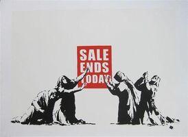 Banksy, 'Sale Ends v2.0 (Signed)', 2017