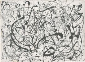 Jackson Pollock, 'Number 14: Gray', 1948