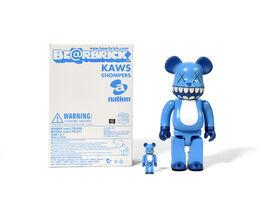 KAWS, 'Bearbrick Chompers 400% & 100%', 2003
