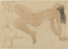 Auguste Rodin, 'Studies of Nude Dancers (attributed to)', ca. 1900/1905