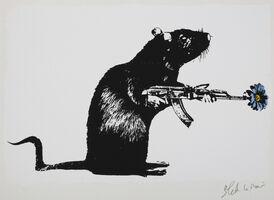 Blek le Rat, 'The Warrior', 2018