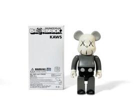 KAWS, 'Bearbrick Companion 400% (Grey)', 2006