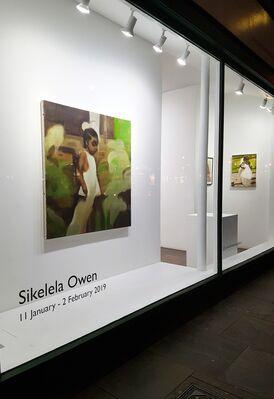 Sikelela Owen, installation view