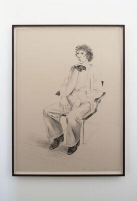 DAVID HOCKNEY SELECTED PORTRAITS, 1976-1995, installation view